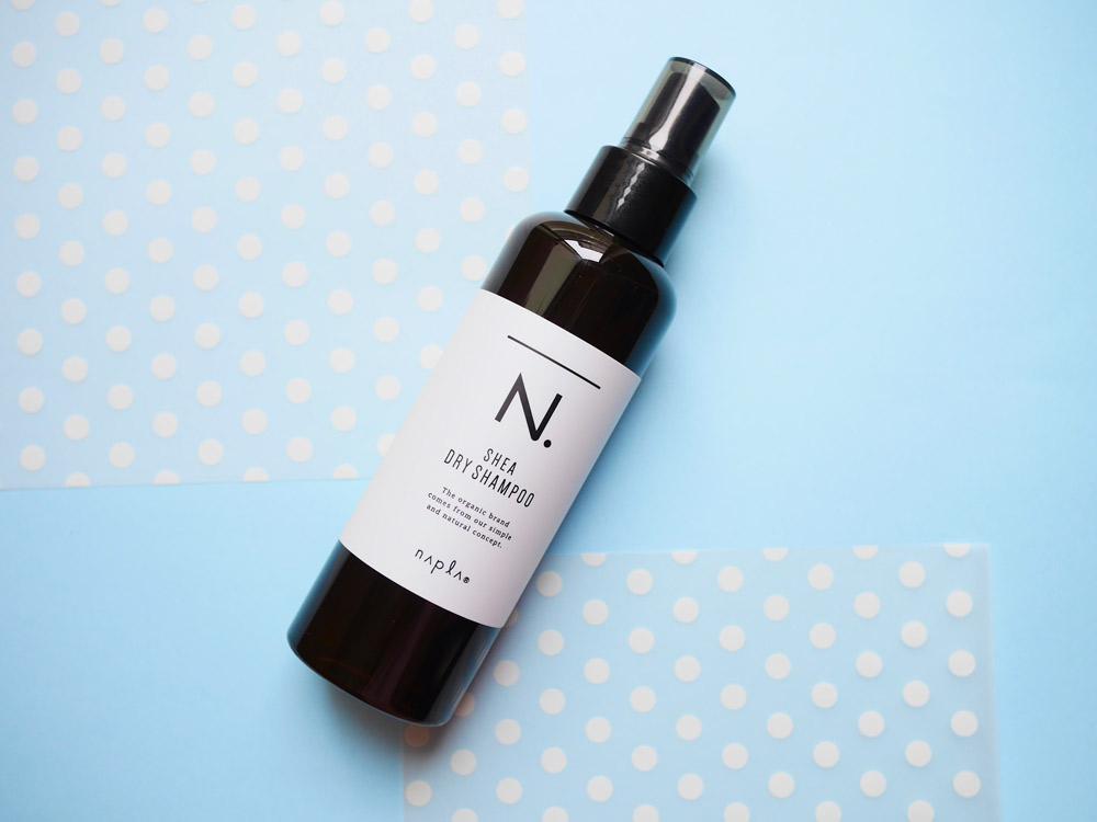 天然由来成分100%の優しさ! レモングラス葉水配合で保湿も叶えるナプラ「N. SHEAドライシャンプー」