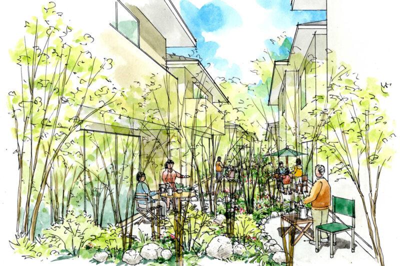 ロックガーデンでステキに演出Vol.2 雑木風ガーデンの住まいをご紹介!