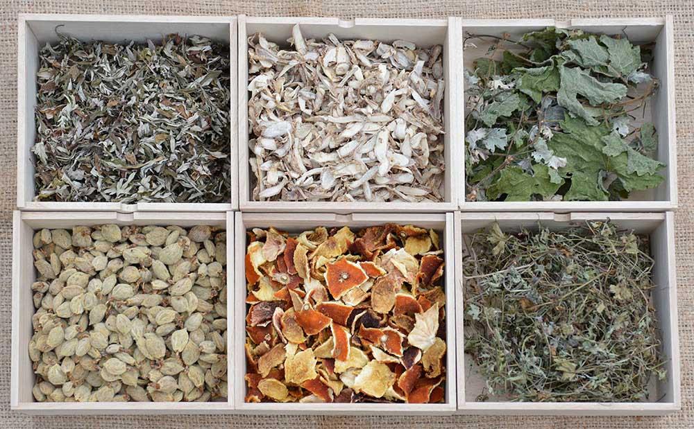 植物原材料
