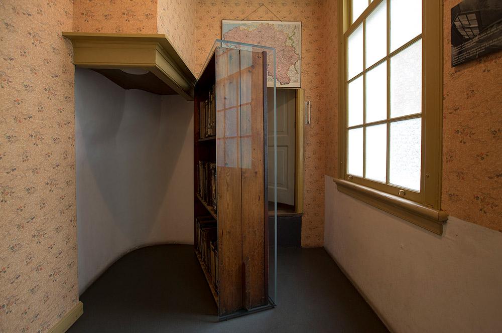 アンネの隠し部屋