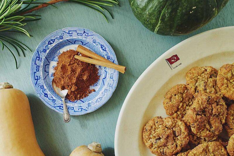 パンプキンスパイスのクッキー